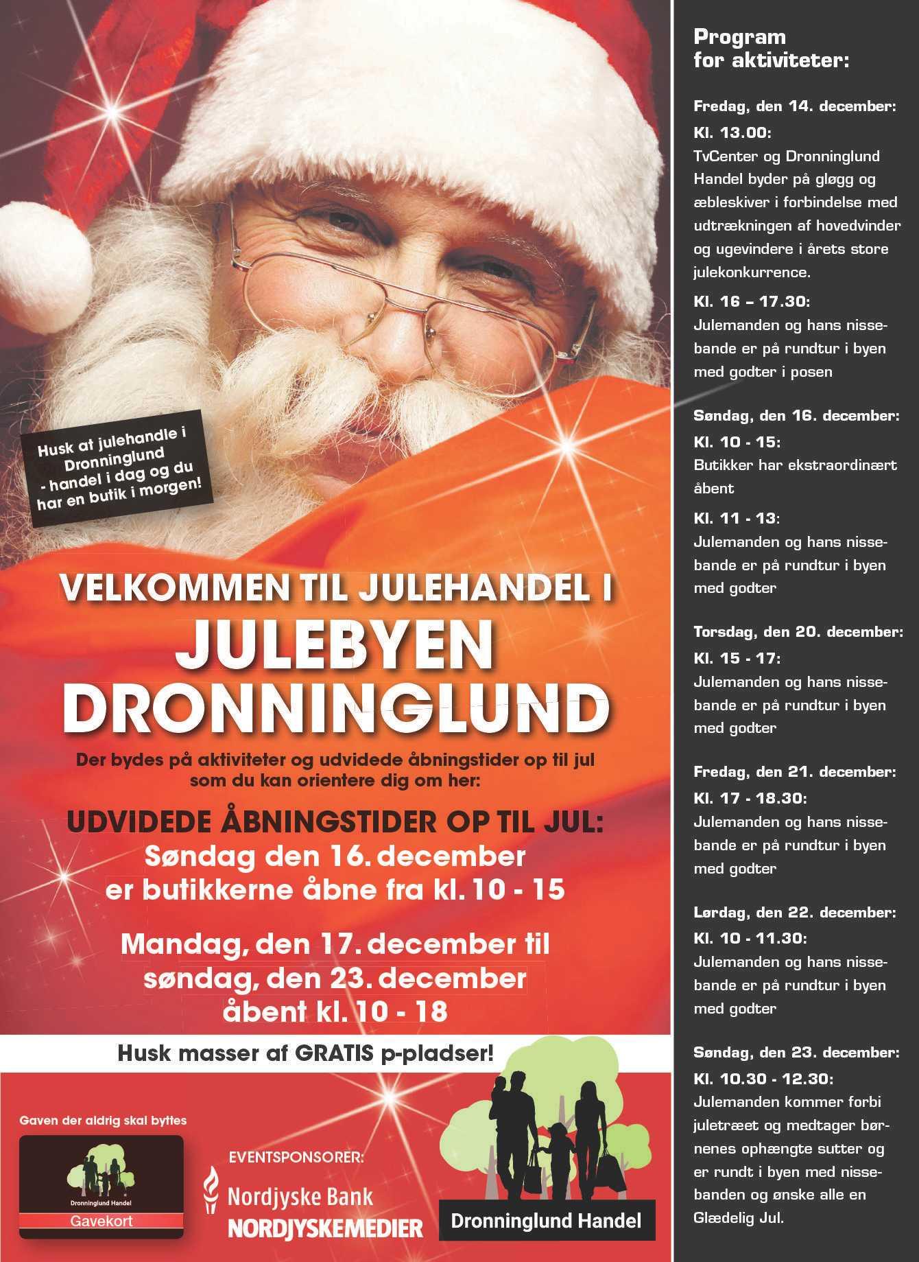 Jul i Dronninglund 2018