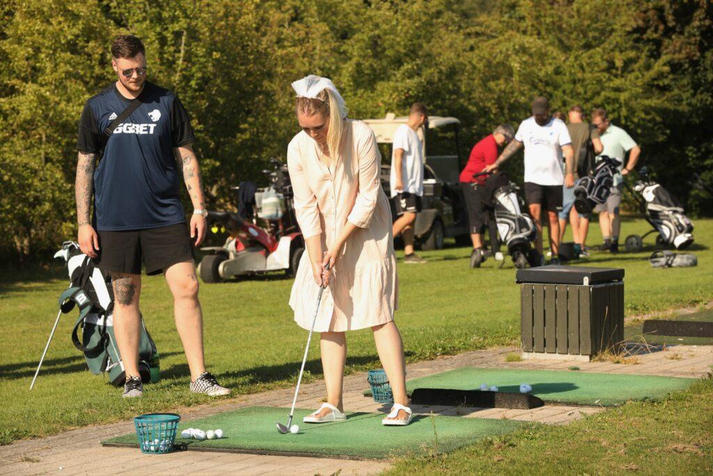 Dronninglund Handel Polterabent på Dronninglund Golfklub 4