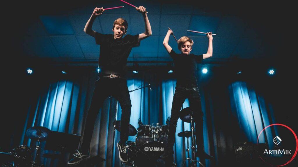 Tromme duo Arti Mik