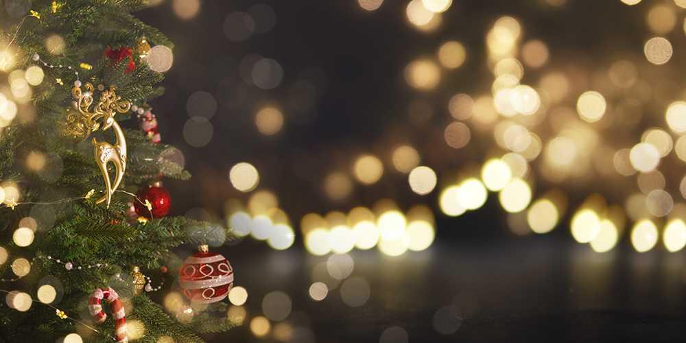 christmas new year holidays background