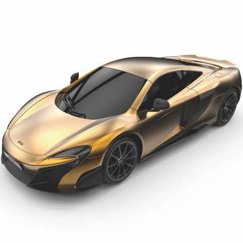 124GMGL Mclaren Gold 675LT Coupe 1