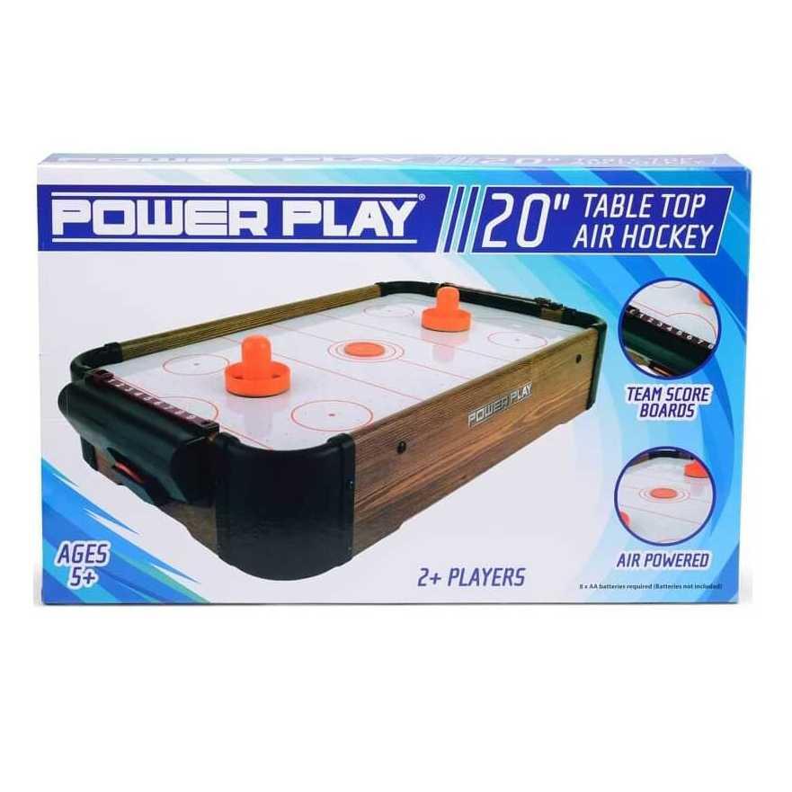 20 tommer luft hockey