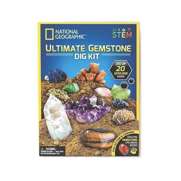 national geographic ultimate gemstone dig kit 1