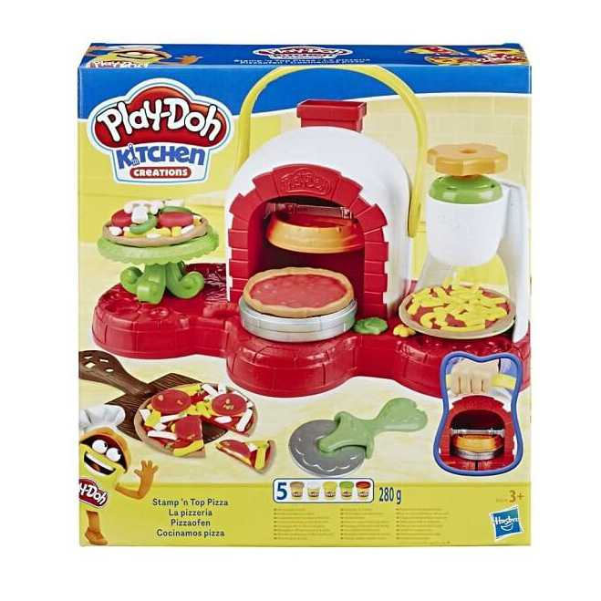 play doh spin n top pizza